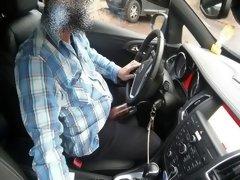 car pumping