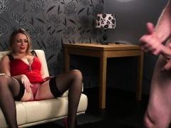 Kinky cfnm mistress mocks