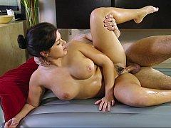 Deep sideways sex