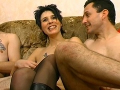 French whore in boots cuckold A75