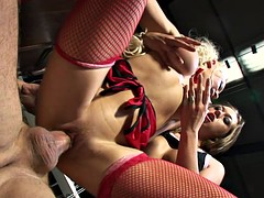 Horny producer dude gets to bang Gabriela and Cindy in threesome