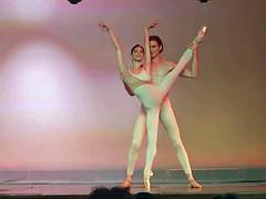 Ballet couple - Lucia Lacarra - Marlon Dino