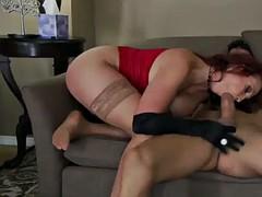the red widow with redhead nicki hunter hard anal sex