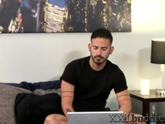 Gay guy sucks big cock