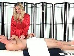 Japonaise, Massage, Maman, Nudiste