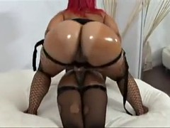 two beauty lesbians fuck with strapon