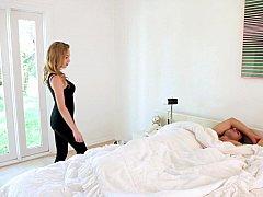 Amerikanisch, Schlafzimmer, Blondine, Familie, Küche, Muschi, Schwestern, Jungendliche (18+)