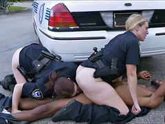 Cops get fucked in the street