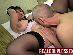 Big Tits Mature Fucked By Older Dude