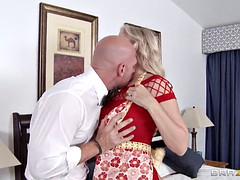 Titty Blonde Julia Gets Banged