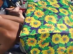 kamasutra on the beach doggy style