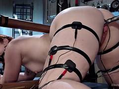 Anal, Bondage domination sadisme masochisme, Bondage, Femme dominatrice, Lesbienne