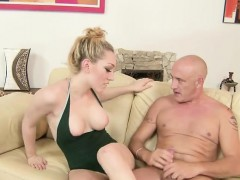 Natural tits pornstar foot with cumshot