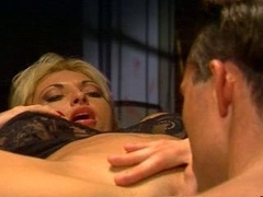 eager mom fucked in the office