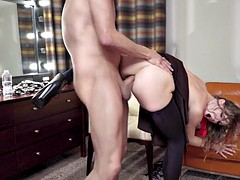 ella nova gets her butt fucked by xander corvus