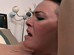 Hot daughter helps her lonely mother with caring pussy licking