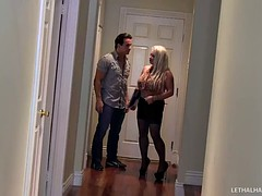 Slutty Real Estate Agent Rachel Fucks For Commission