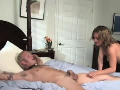 Mistress Gwen Diamond punishes tied guy