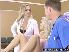 Brazzers - Doctor Adventures - Julia Ann Kylie Page and Jessy Jones -  She Wants It Both Ways