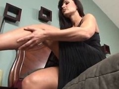 Bigtitted Milf Has Ideal Throat And additionally Coochie