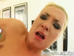 Ass Traffic Big ass blonde squirts as she's fucked hard