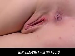 anal toying and speculum gorgeous her snapchat - elinaxgold