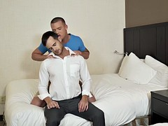 brandon wilde hop on raw cock in a evan marcos need sex