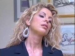 イタリア人, 淫乱熟女, 母