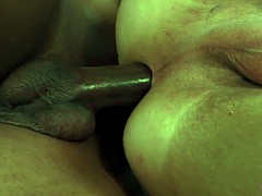 stockinged tranny cock black cock