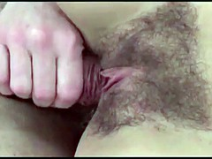 Full load on hairy pussies