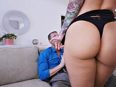 katrina jade teasing the lucky guy with her hot body