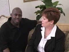 Real bbw Mom June Taking On A BBC