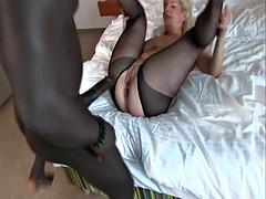 BBC vs blonde milf assfuck