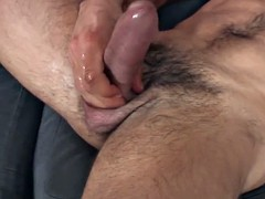 torn hung stud jerk off solo session