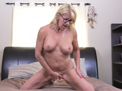 Canadian Housewife Playing with Herself