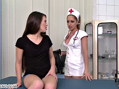 Dr. Fisting and anal practice with a young girl