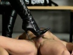 Hot pornstar domination with cumshot
