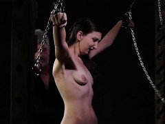 Hot pornstar bdsm with cumshot