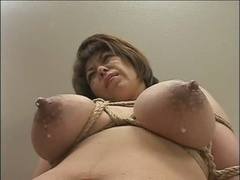 Lactation, Mothermilk with restrained Tits by Spyro1958