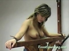 MILF techer teaches her students respect