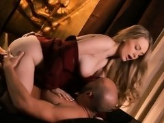 Exquisite chick gets lovely rear fuck of her aching clam