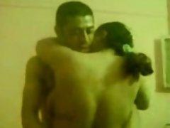 Arab amateur 3some with Egyptian milf Chavi
