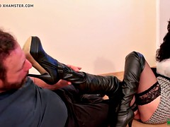 Again Another Good Job- Boots Licking Humiliation