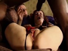 cuckold wife gets 2 big cocks