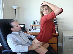 Office is a good place to have anal