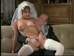 Mariée, Allemand, Rétro