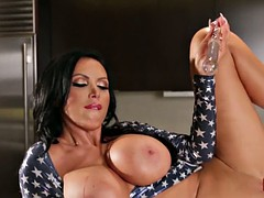 Nikki Benz Fucks Herself for America!
