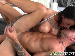 Fingering domina swallows