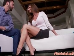 Gorgeous milf banged and solelicked