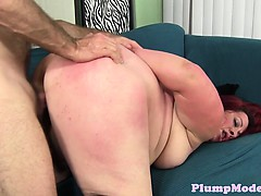Redhead fatty pussybanged doggystyle